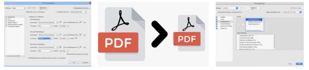 PDF verkleinen: hoe werkt dat?